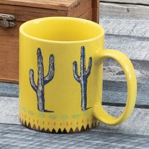 Sunshine Cactus Mugs - Set of 4