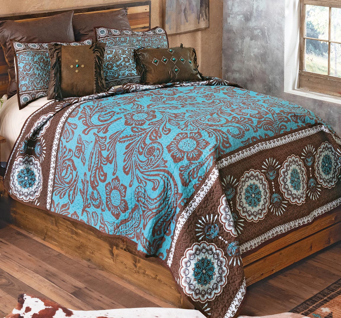 Sweetwater Quilt Set - Queen