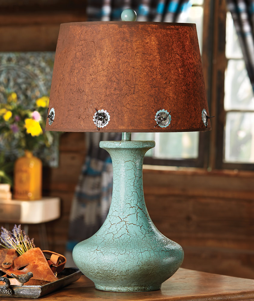 Sweetwater Turquoise Table Lamp