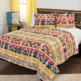 Sylus Striped Quilt Bedding Collection