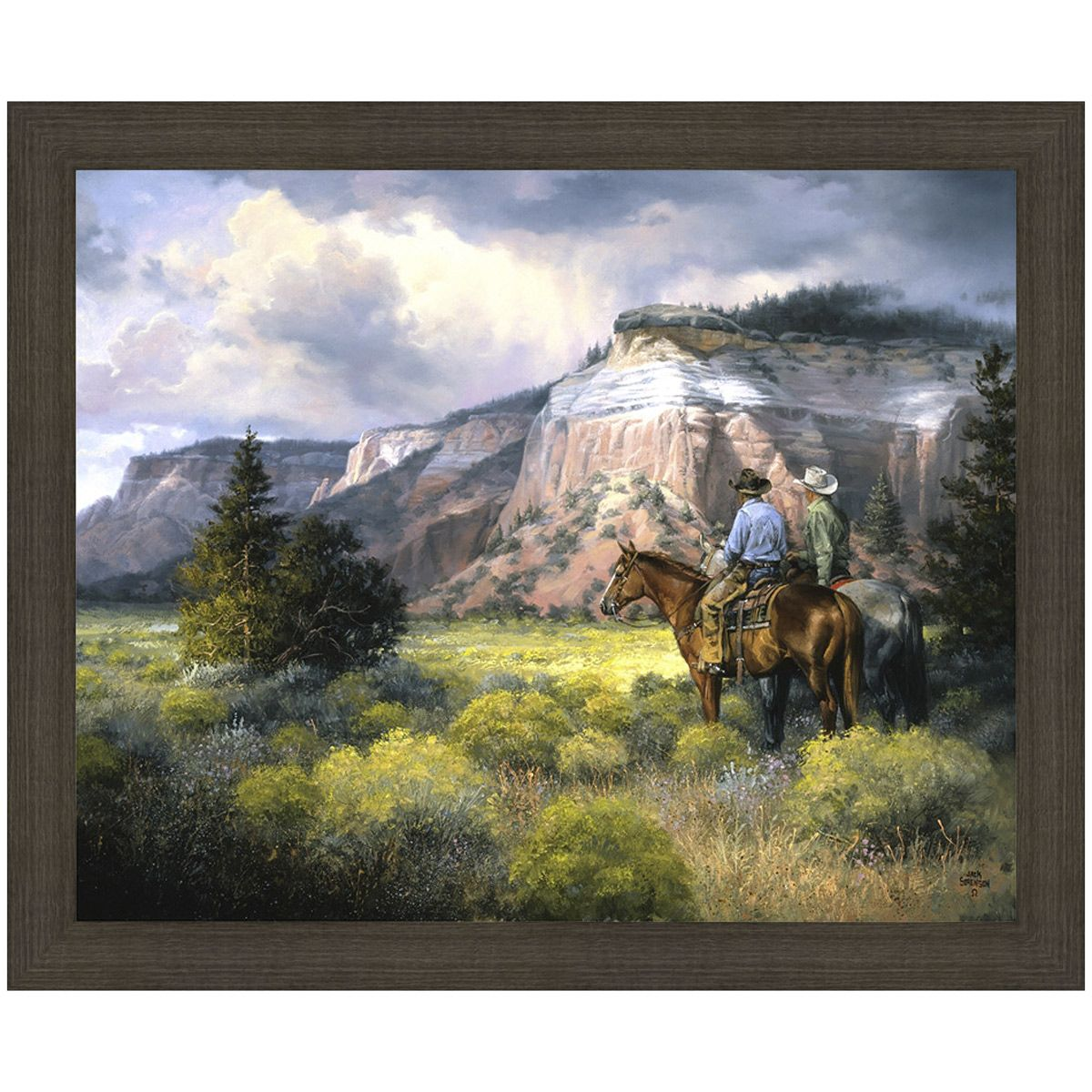 Taking in the View Canvas Art
