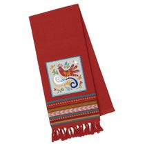 Talavera Bird Dishtowel