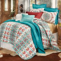 Talavera Quilt Bed Set - Full/Queen