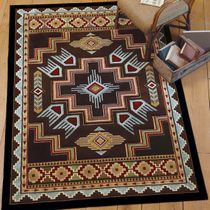 Talon Smoke Blue Rug - 3 x 4