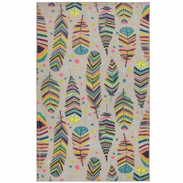 Taos Feathers Multicolor Rug Collection