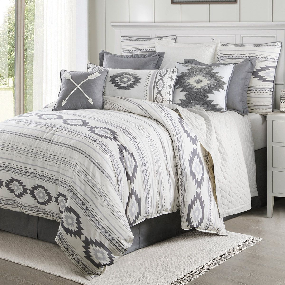 Taos Frost Bed Set - Twin
