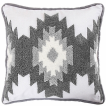 Taos Frost Crewel Pillow