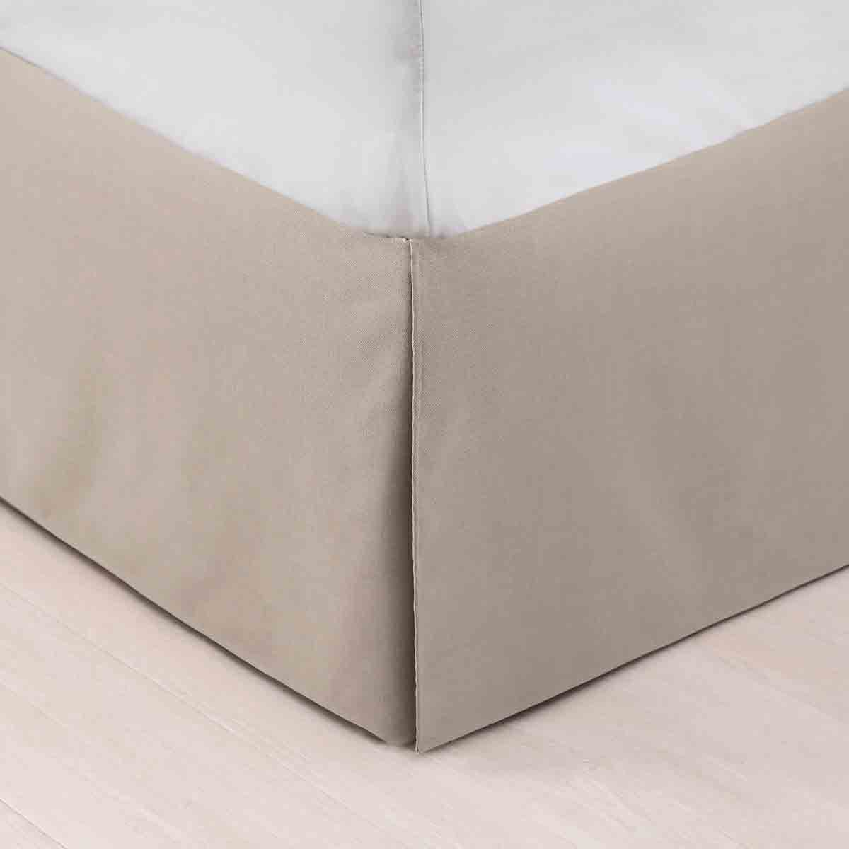 Taupe Bedskirt - Queen