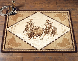 Team Roper Rug Collection