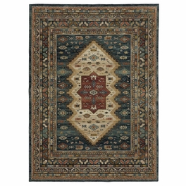 Tenochtitlan Sapphire Rug Collection