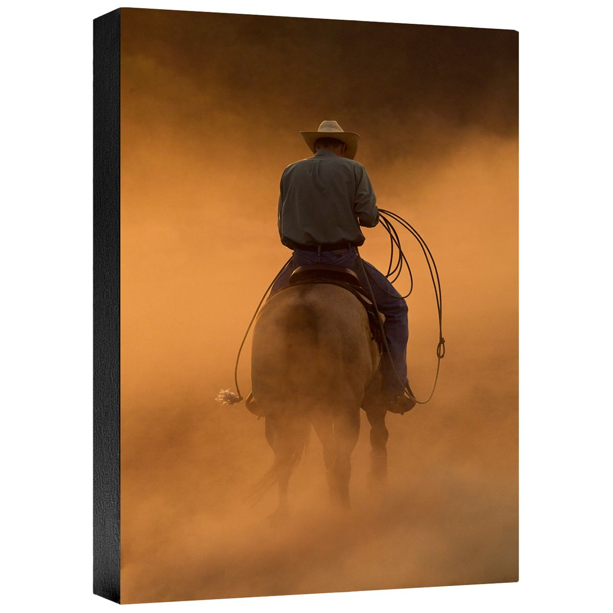 Teo on the Ranch Gallery Wrapped Canvas