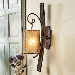 Rustic Sconces Vanity Lights Western Lamps