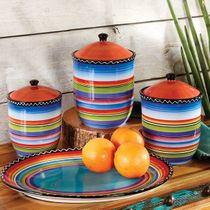 Tequila Sunrise Canister Set - 3 pcs
