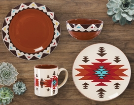 Terracotta Dream Dinnerware Collection (16pcs) - OVERSTOCK