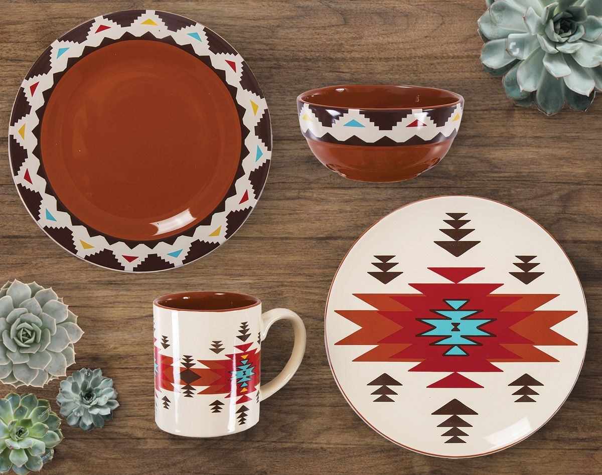 Terracotta Dream Dinnerware Collection (16pcs)