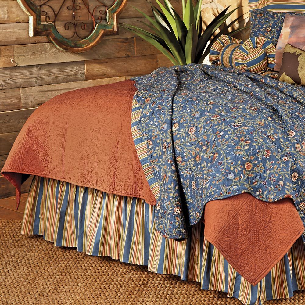 Terracotta Matelasse Quilt - Full/Queen - OUT OF STOCK
