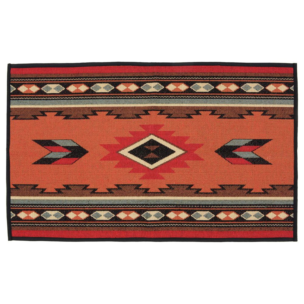 Terracotta Southwestern Accent Rug - OUT OF STOCK UNTIL 7/23/2021
