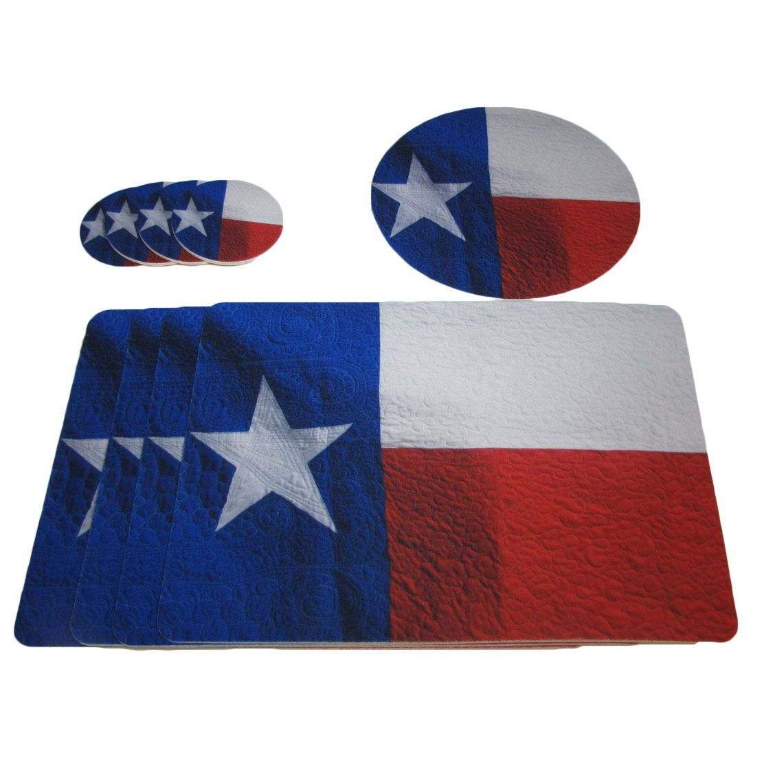 Texan Table Linens - Set of 9
