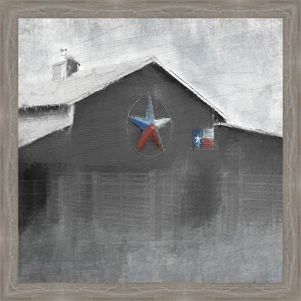 Texas Barn Canvas art