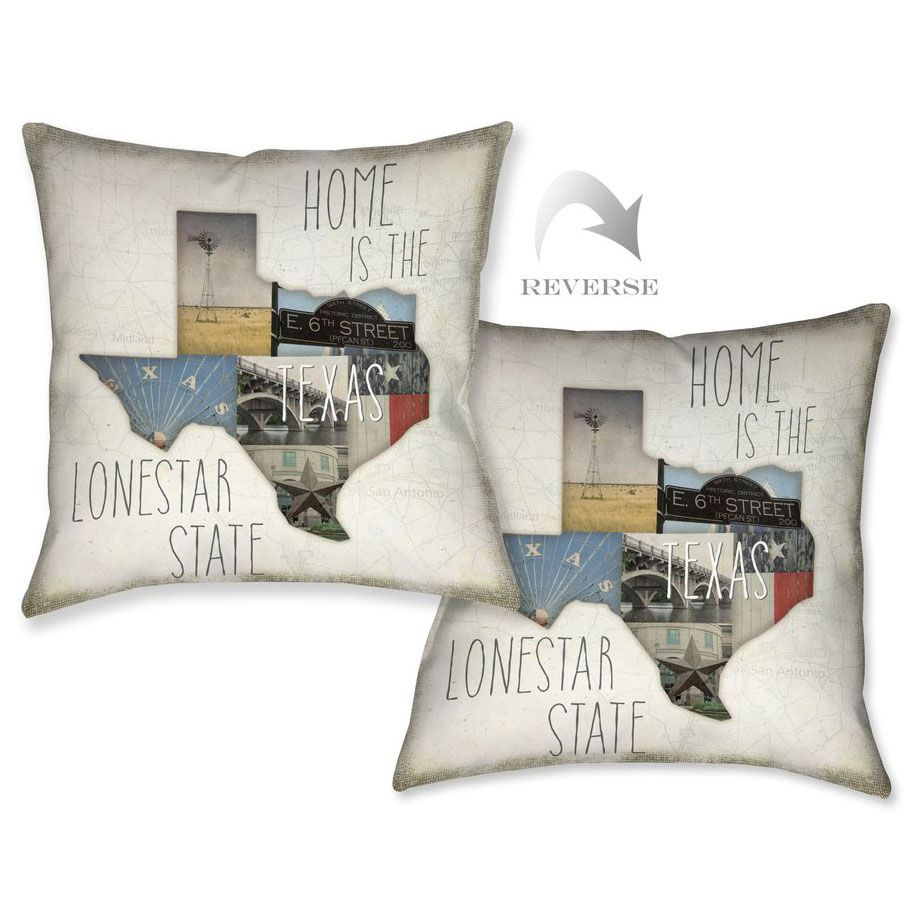 Texas Lone Star Pillow