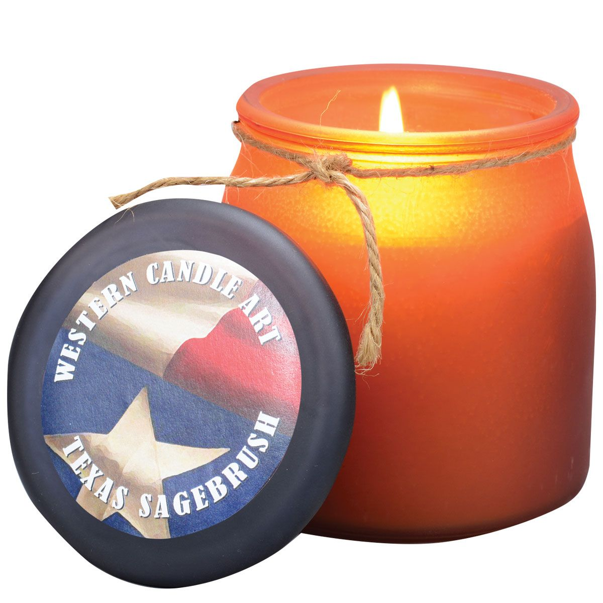 Texas Sagebrush Western Jar Candle