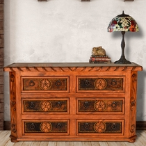 Texas Star Cowhide 6-Drawer Dresser
