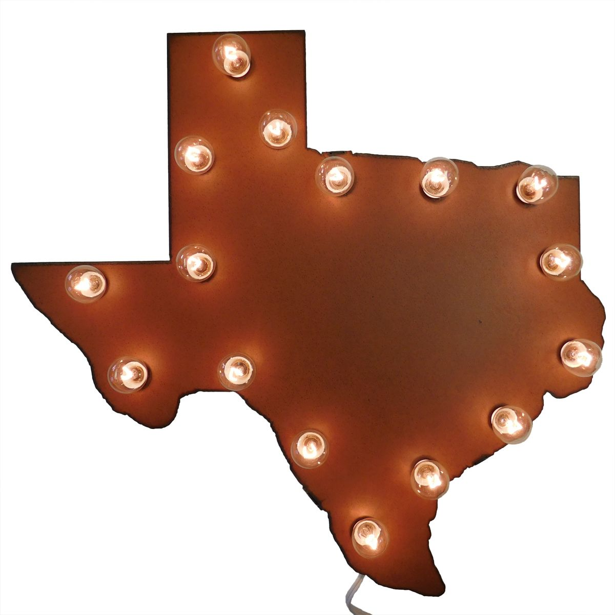 Texas State Lighted Marquee Sign