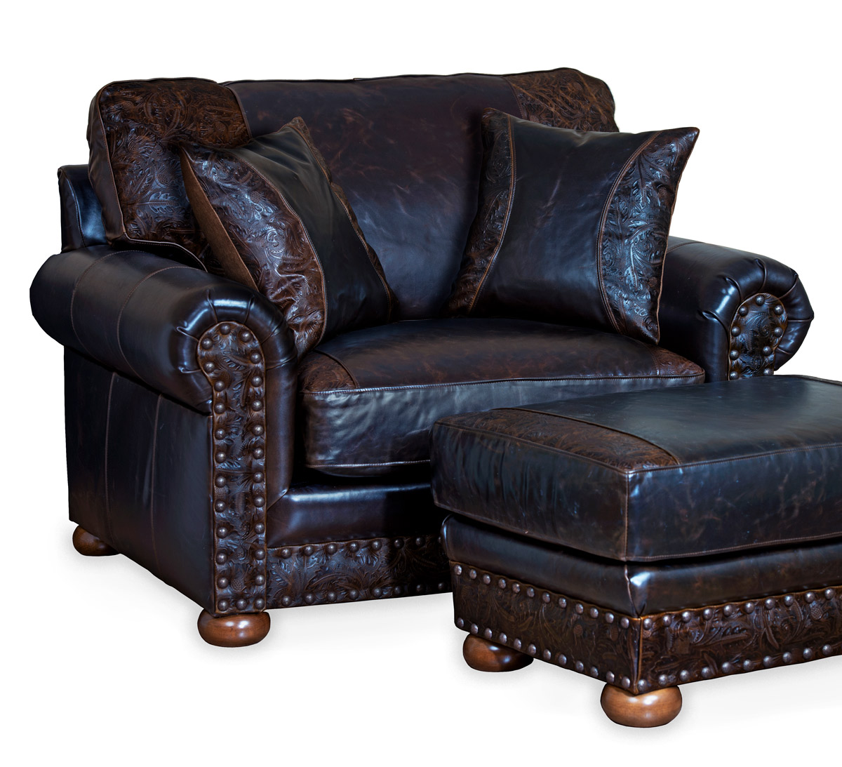 The American Outlaw Oversized Chair