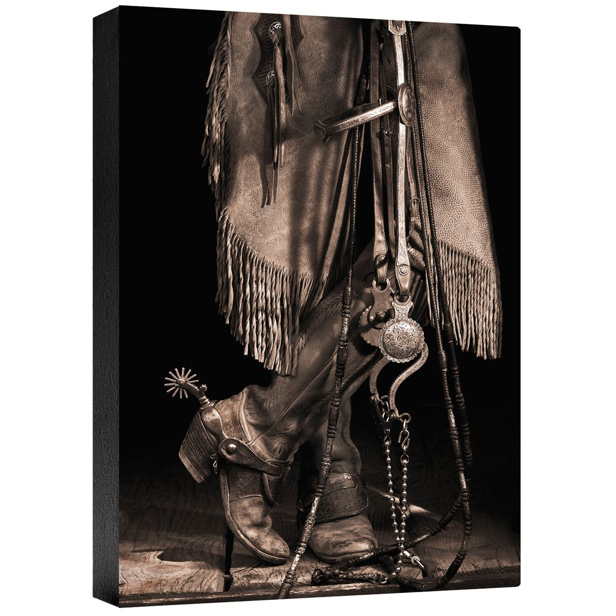 The Buckaroo Gallery Wrapped Canvas