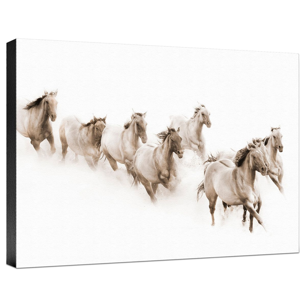 The Herd Gallery Wrapped Canvas