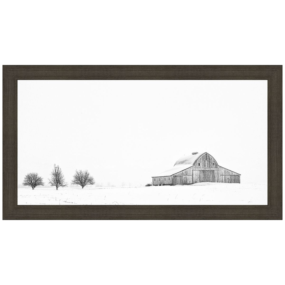 Three Apple Trees Framed Print