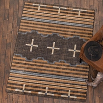 Three Chiefs Gray Rug - 8 x 11
