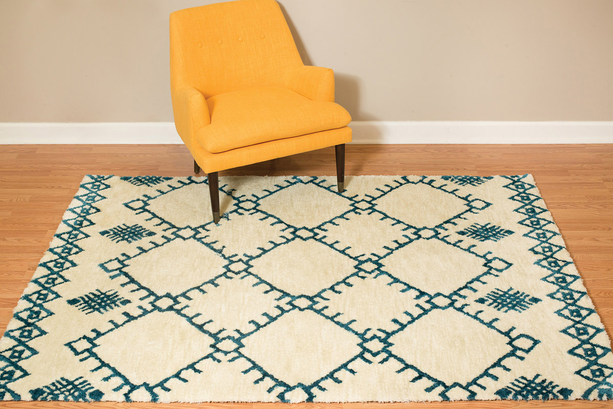 Thunderbird Cream Rug - 2 x 3