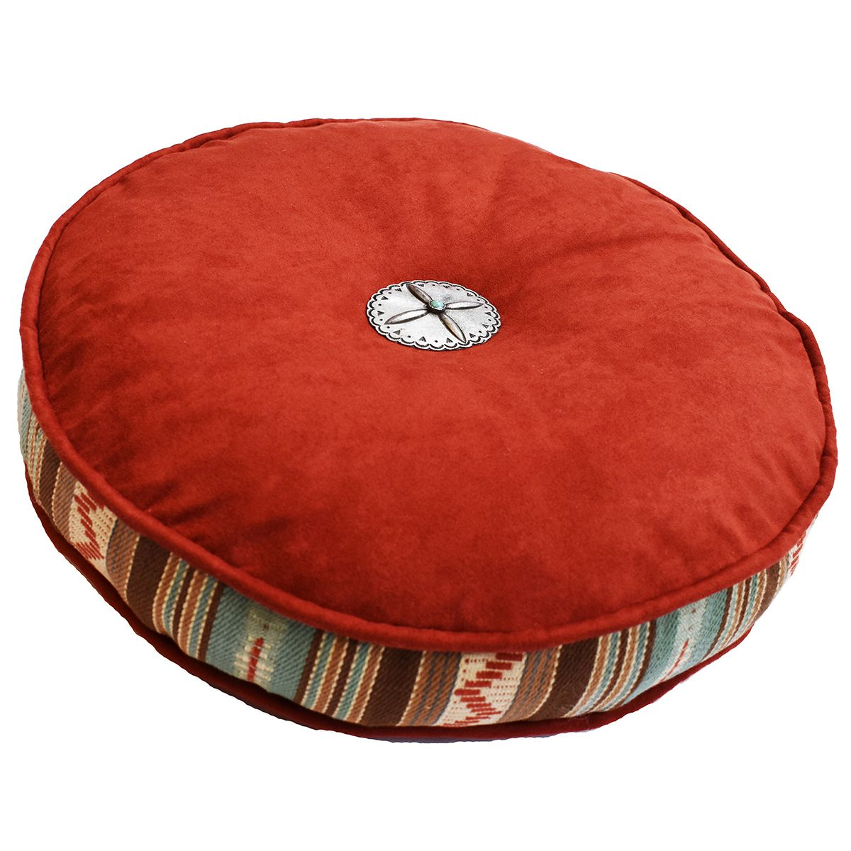 Thunderbolt 16-Inch Round Pillow