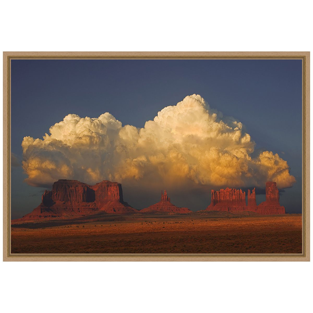 Thunderhead Framed Canvas