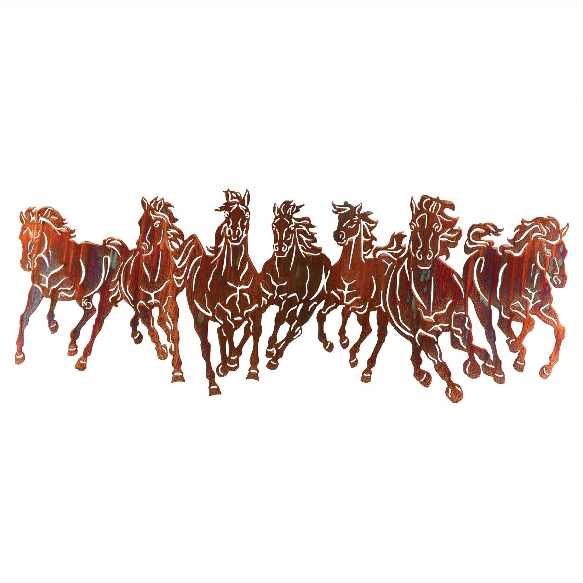 Wild Horse Stampede Wall Hanging
