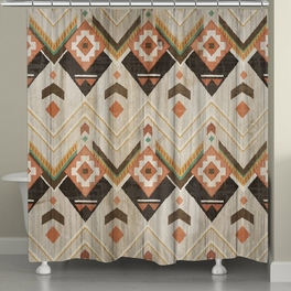 Timber Lodge Shower Curtain