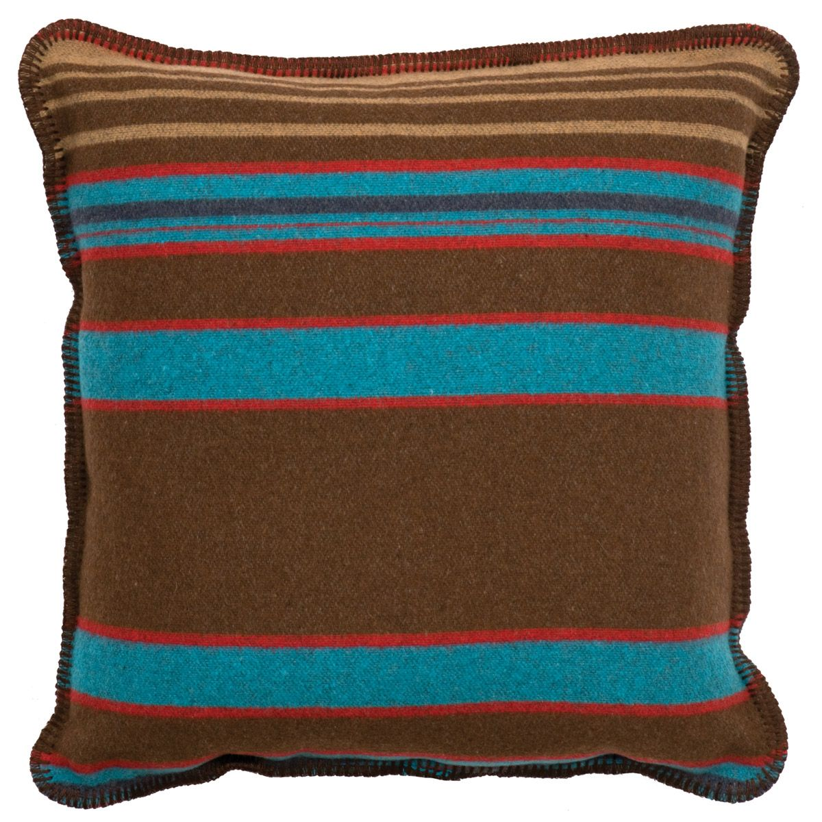 Tombstone III Striped Pillow