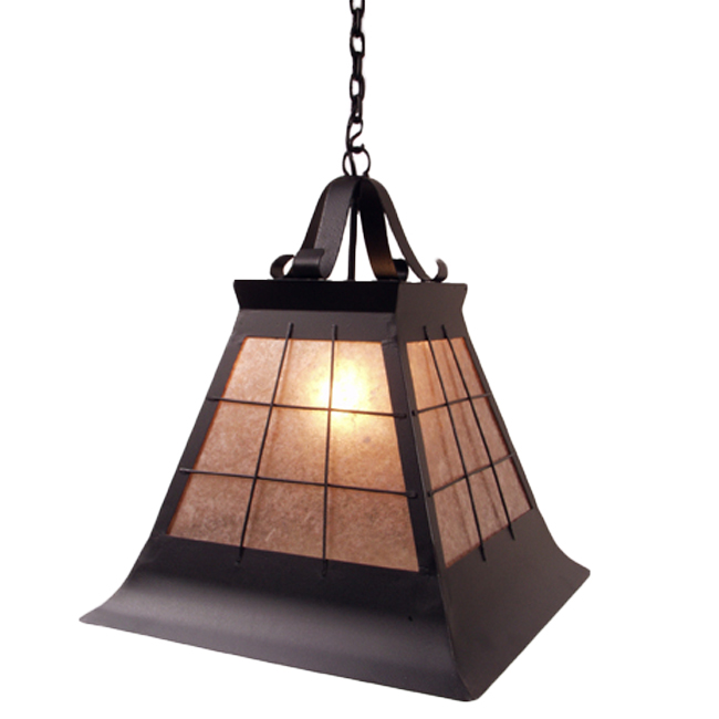Top Ridge Large Pendant