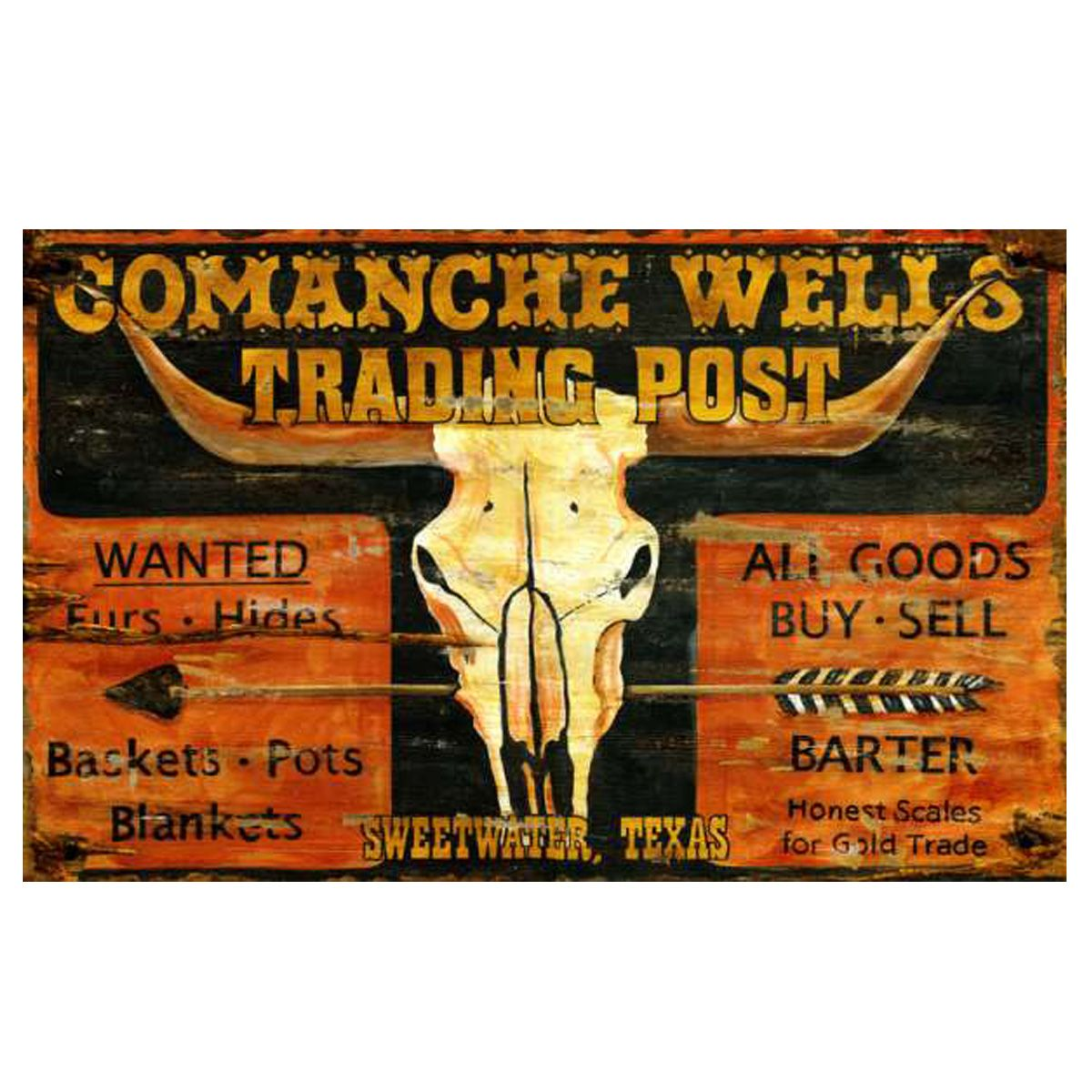 Trading Post Personalized Sign