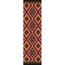 Traditions Rust Rug - 2 x 8
