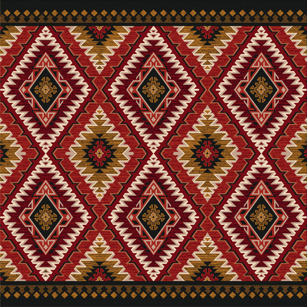 Traditions Rust Rug - 8 Ft. Square