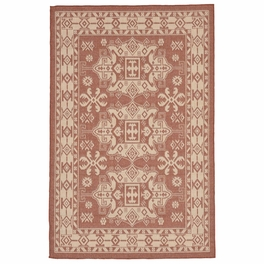 Traditions Terracotta Indoor/Outdoor Rug Collection