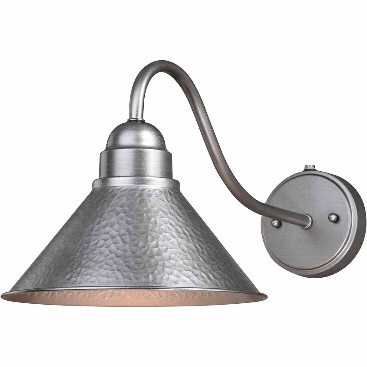 Trailhead Outdoor 10 Inch Wall Sconce with Long Arm - Pewter