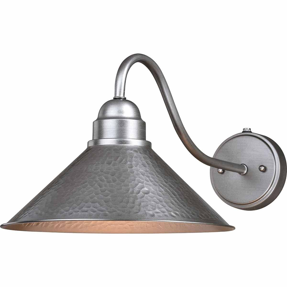 Trailhead Outdoor 12 Inch Wall Sconce with Long Arm - Pewter