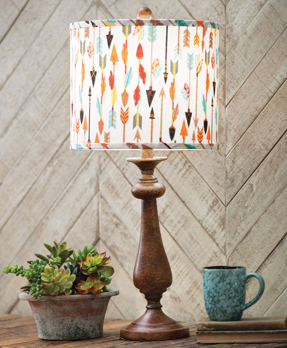Tribal Arrows Table Lamp