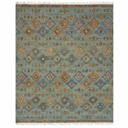 Tribal Blues Rug Collection