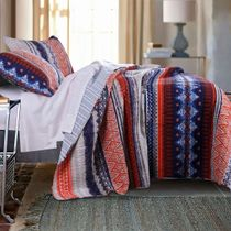 Tribal Chic Quilt Set - Twin