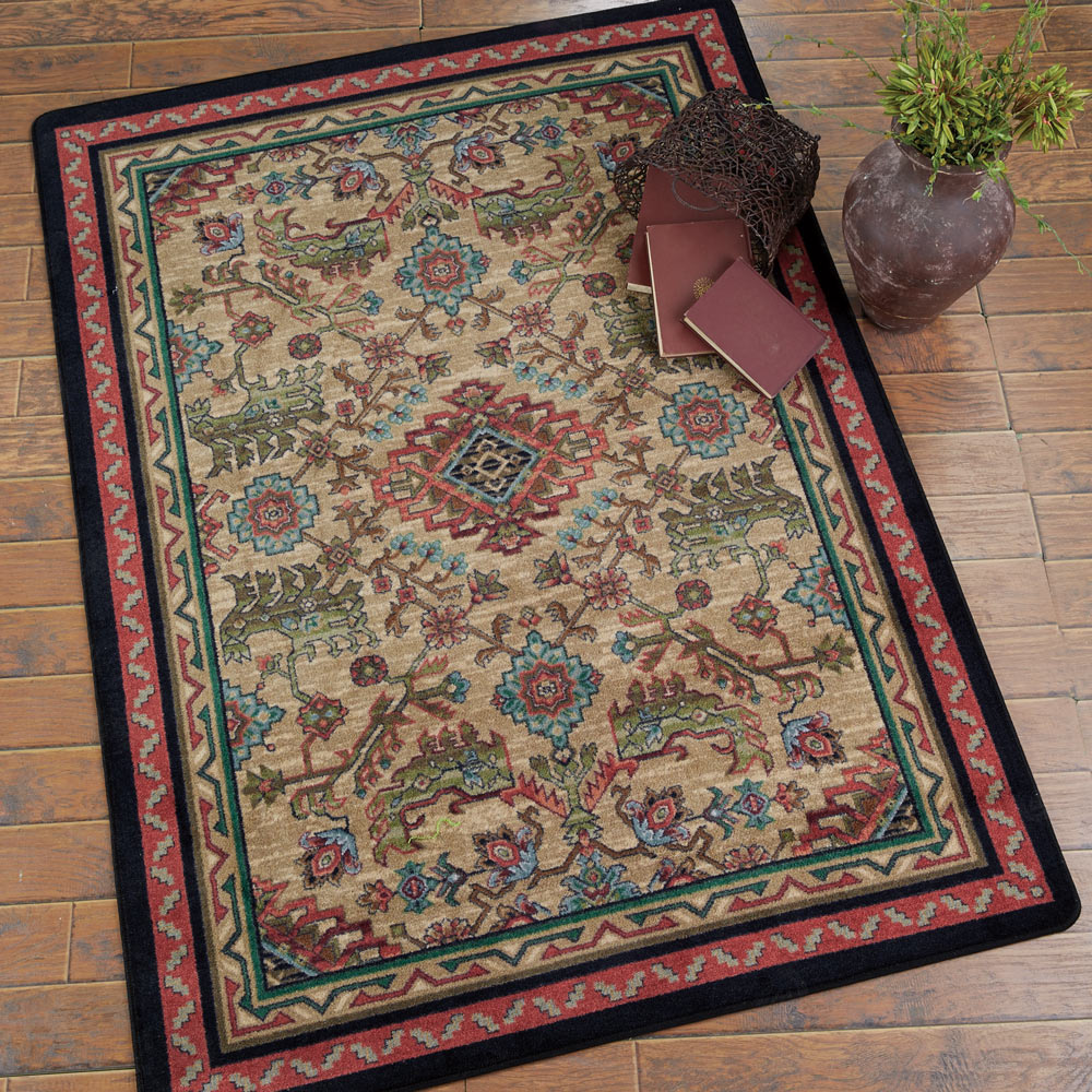 Tribal Echoes Saddle Rug - 8 Ft. Square