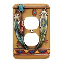 Tribal Feathers Outlet Over